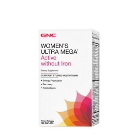 Women`s Ultra Mega Active Without Iron (180 caplets)