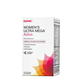 Women's Ultra Mega Active (180 caplets)