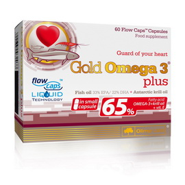 Gold Omega 3 Plus (60 caps)