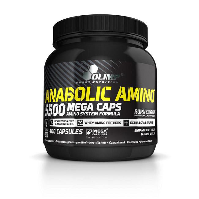 Anabolic Amino 5500 Mega Caps (400 caps)