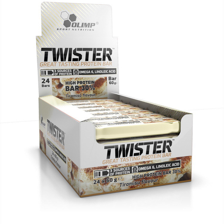 Twister Bar - 30 % Protein (24 x 60 g) | Olimp | Батончики