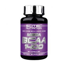 MEGA BCAA 1400 (90 caps)