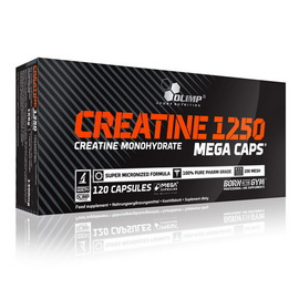Creatine Mega Caps (120 caps)