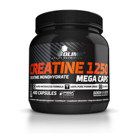 Creatine Mega Caps 1250 (400 caps)