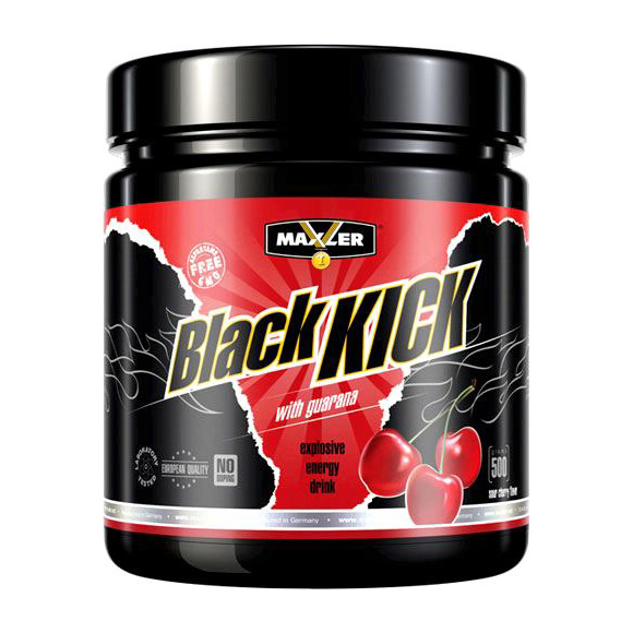 Black Kick Sour Cherry (500g / can)