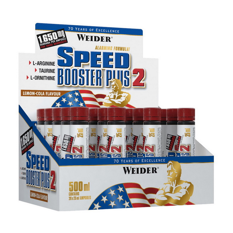 Speed Booster Plus 2 (20 x 25 ml)