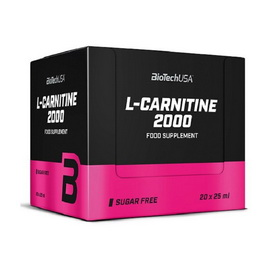 2000 mg L-Carnitine ( 20x25 ml)