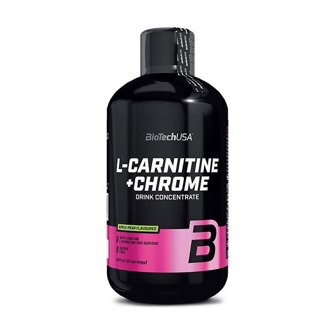 L-Carnitine 35000 mg + Chro. (500 ml)