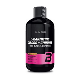 L-carnitine 70000 mg + Chrome (0.5 l)