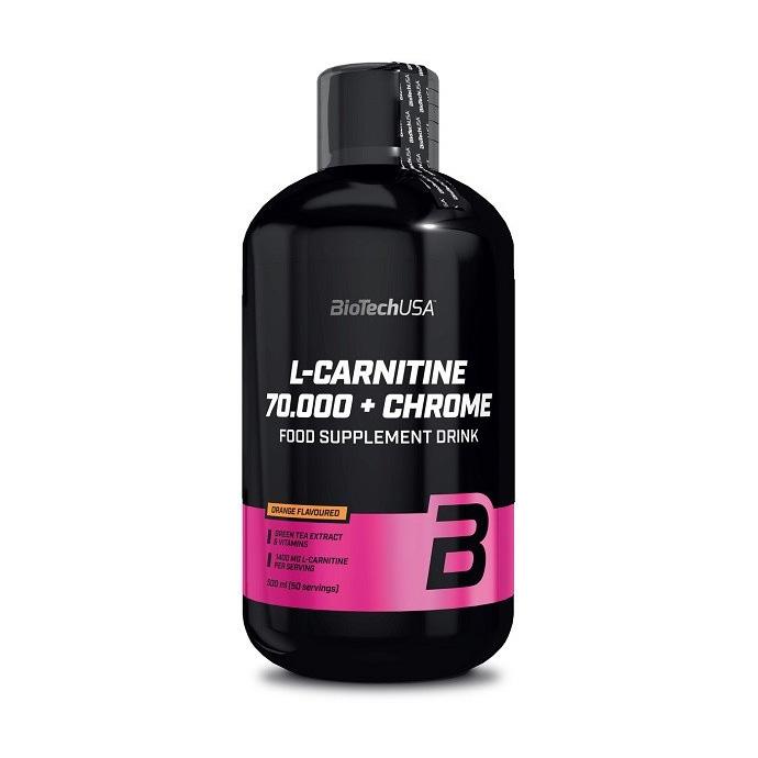 L-carnitine 70000 mg + Chrome (0.5 l)