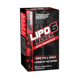 Lipo-6 Black Ultra Concetrate (60 caps)
