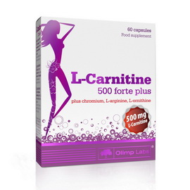 L-Carnitine 500 forte plus (60 caps)
