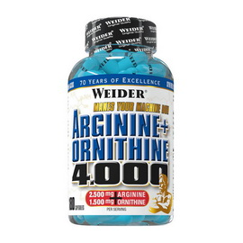 L-Arginine+Ornitin 4000 (180 caps)