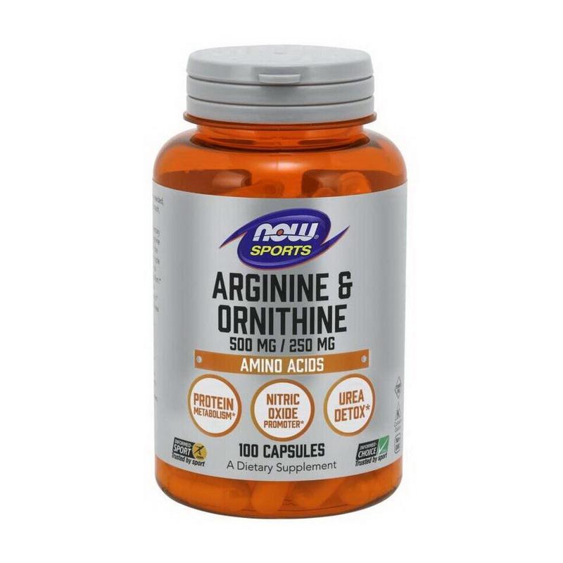 Arginine/Ornithine (100 caps)