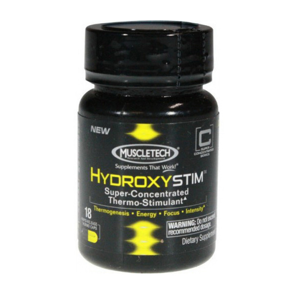 Hydroxy Stim no yohimbe (18 caps)