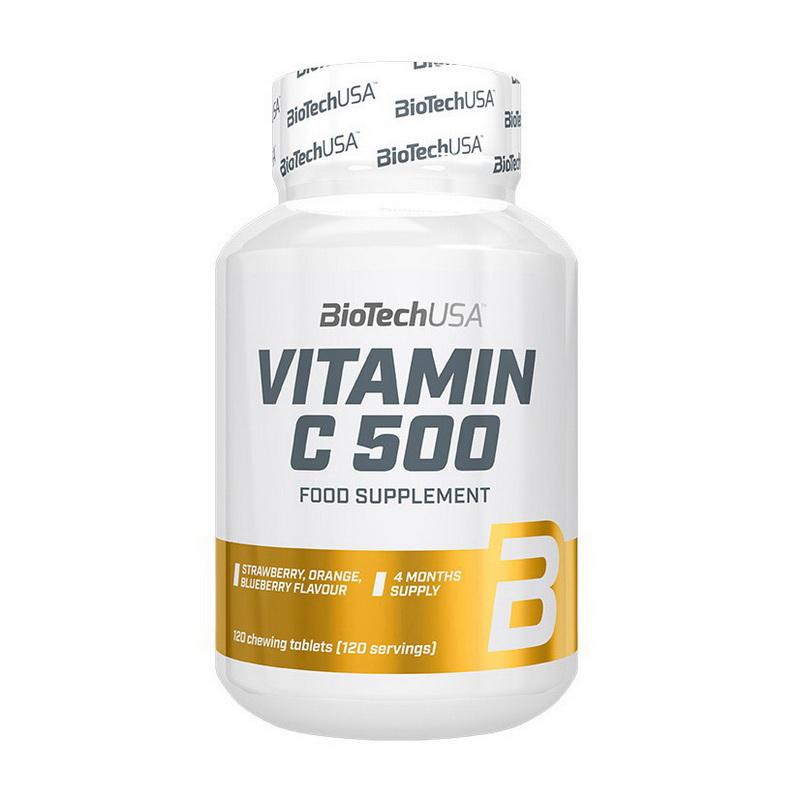 Vitamine C 500 chewing tabs (120 tabs)