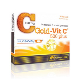 Gold Vit C 500 plus (30 caps)