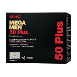 MEGA MEN 50 PLUS VITAPAK (30 megapak)