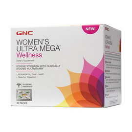 WOMEN'S ULTRA MEGA WELLNESS (30 megapak)