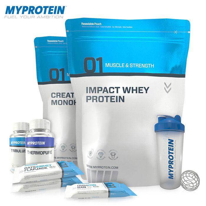 Ассортмент продукции Myprotein