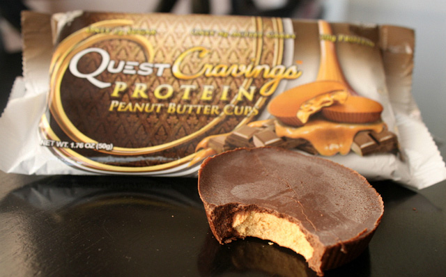 Quest Bar Cravings Peanut Butter Cups без упаковки