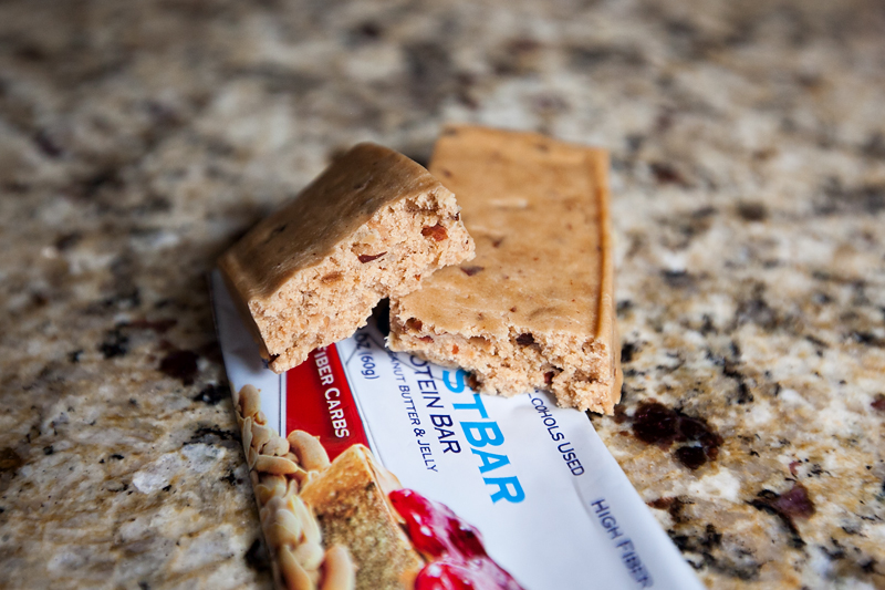 Quest Bar Peanut Butter & Jelly без упаковки